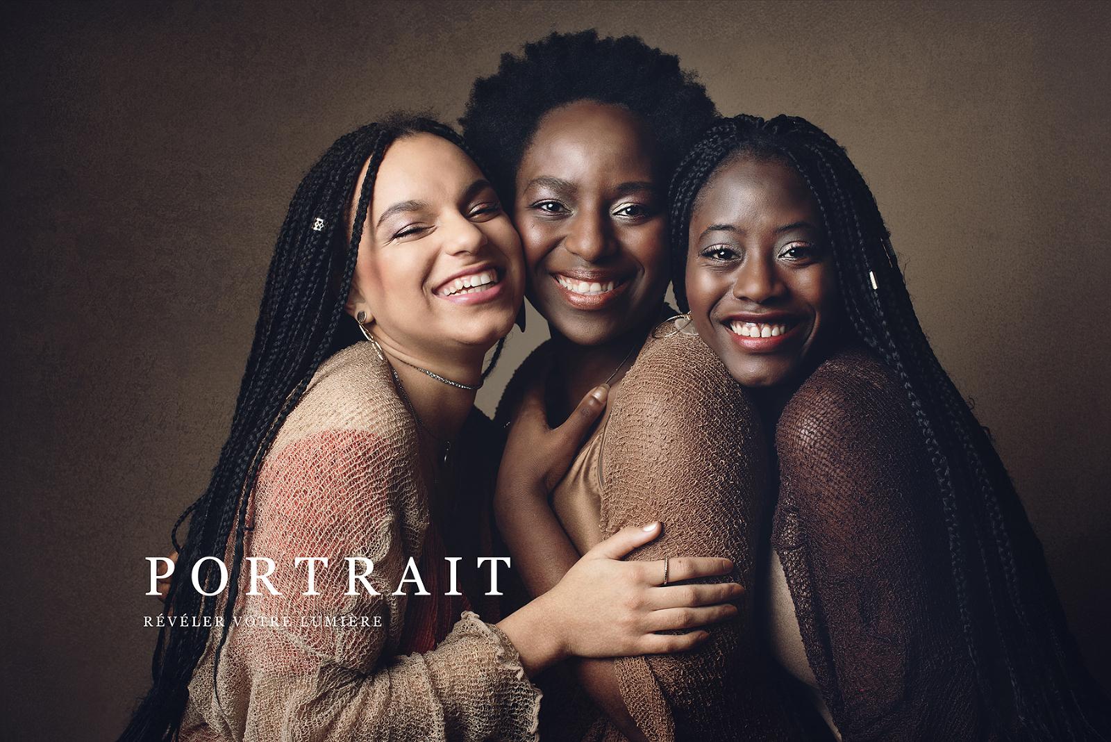 femmes noires trois soeurs