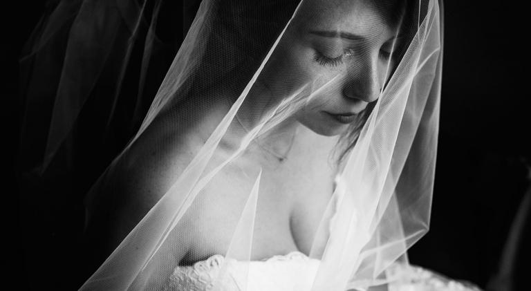 la mariée et le voile